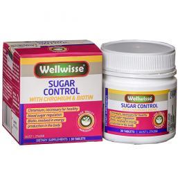 Wellwisse Sugar Control - Kiểm soát đường huyết