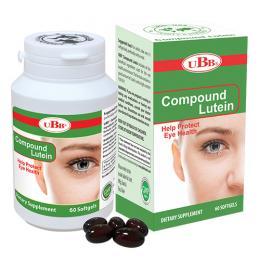 UBB® Compound Lutein - Bảo vệ mắt và tăng cường thị lực