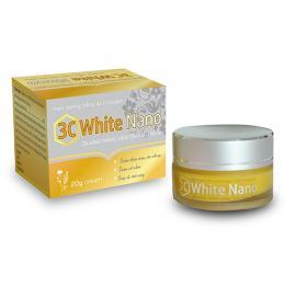 3C White Nano - Sạch nám, mịn da, mặn mà xuân sắc