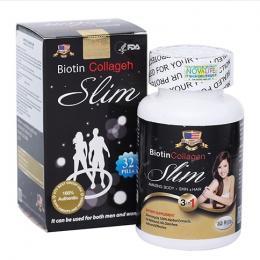 Biotin Collagen Slim giảm cân chuẩn Mỹ