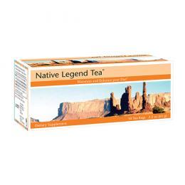 Trà Thảo Mộc Native Legend Tea - Giải độc gan, hạ mỡ máu, chống táo bón
