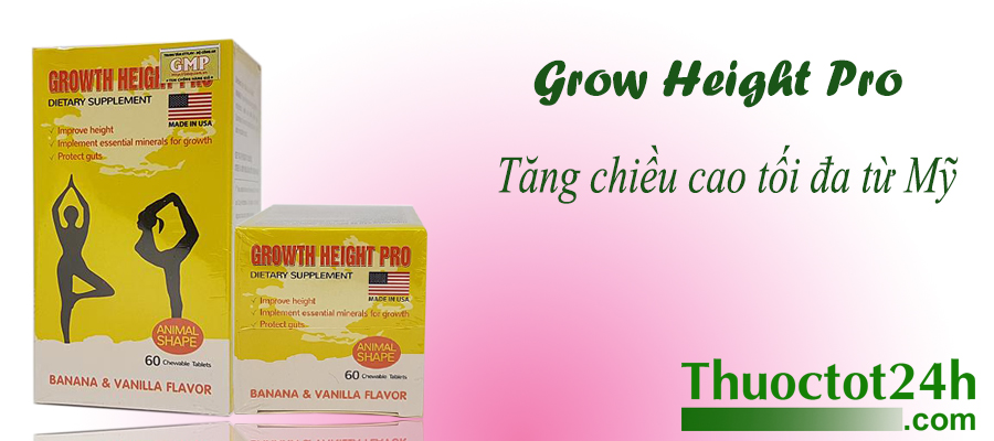 Growth Height Pro Mỹ