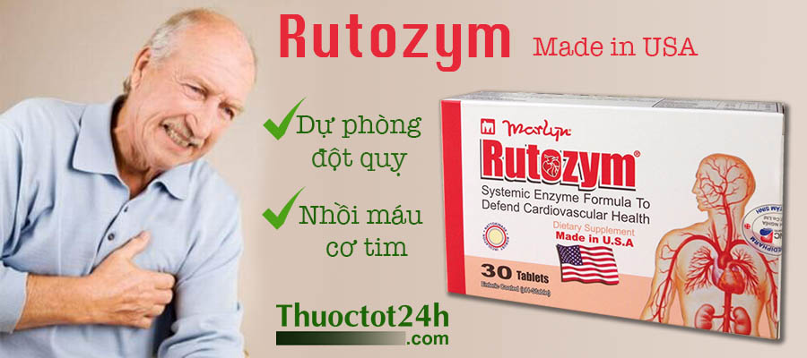 Rutozym - Made in USA