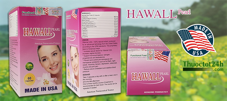 Hawall Pearl - Made in USA