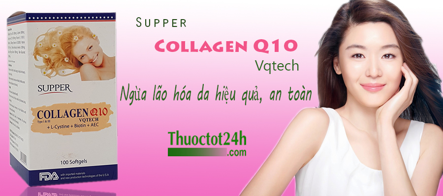 viên uống  suppercollagen q10