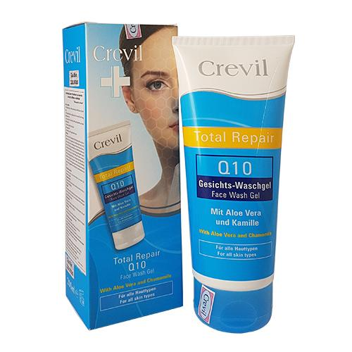 Gel rửa mặt Crevil Q10 Total Repair