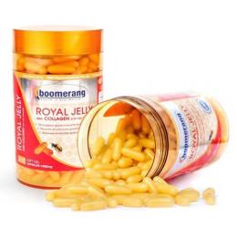 TPBVSK Boomerang Royal Jelly and Collagen Softgel - Viên sữa ong chúa